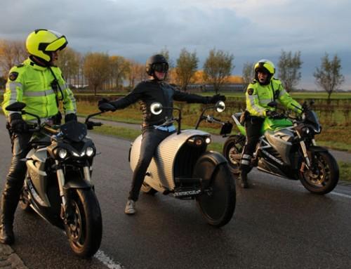 Politie test elektrische motor
