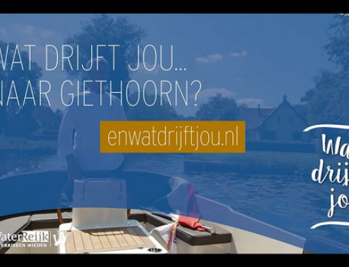 Campagne 'Wat drijft jou?' | WaterReijk Marketing